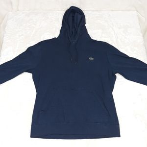 Lacoste hoodie hooded shirt mens Large